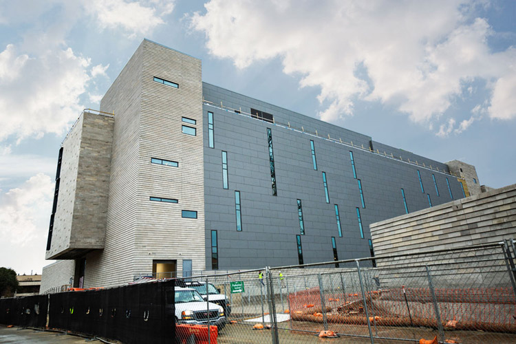 New Year Brings New Construction, Science Building