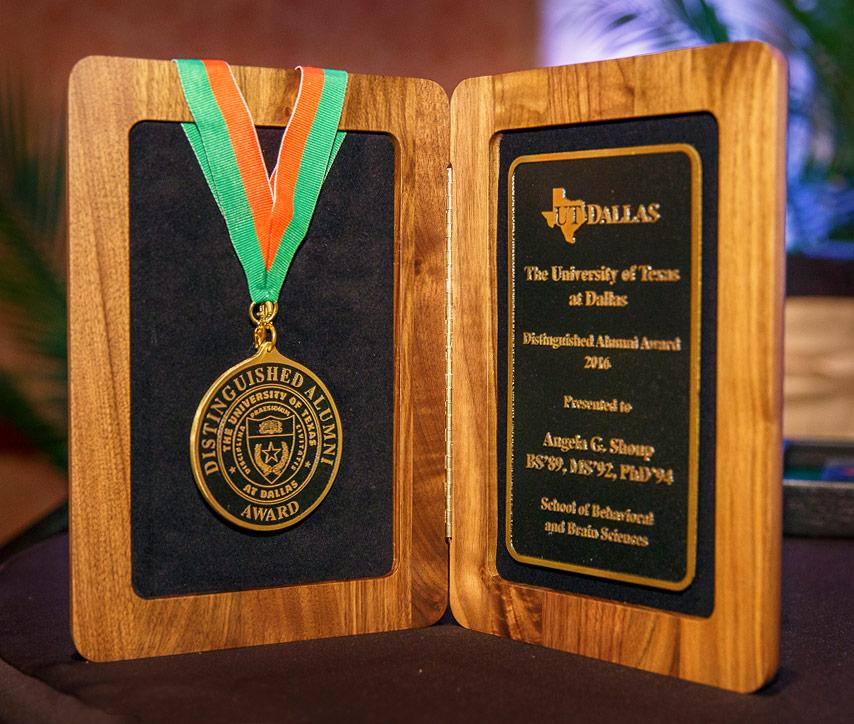 UT Dallas award