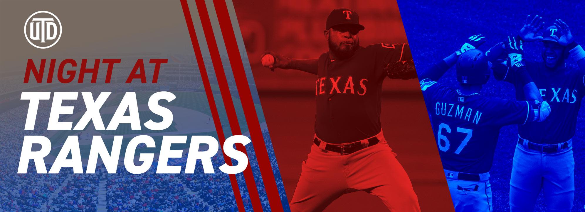Night at Texas Rangers